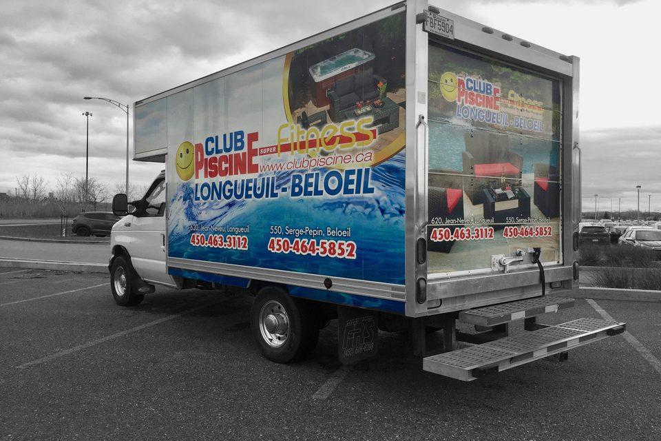 Autocollant Pour Camion Version Image Plus
